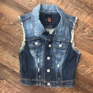 G by Guess Jean Vest